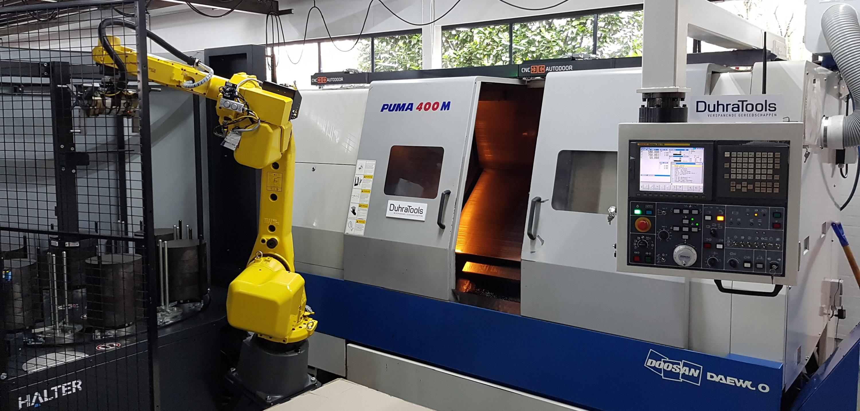 Procesoptimalisatie Odemar Metaal robot