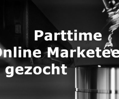 Online Marketeer parttime