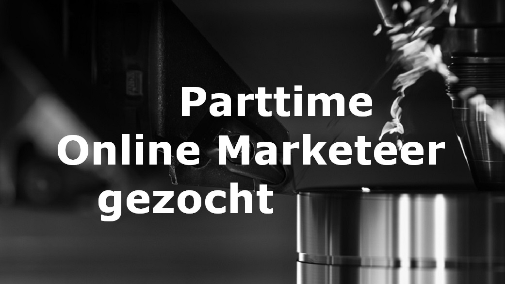 Online Marketeer parttime